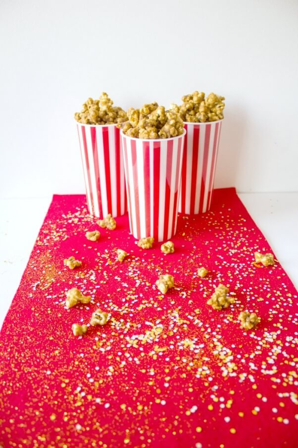 Vegan Caramel Popcorn 4