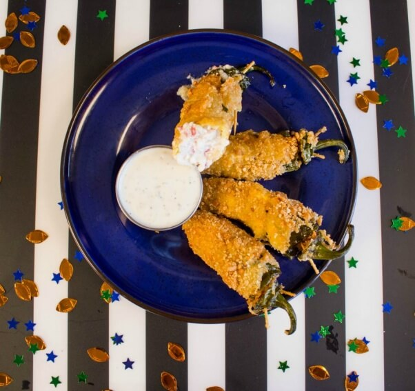 Vegan Jalapeno Poppers from Above