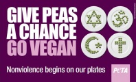 PETA and the POTUS Want People to Give 'Peas' a Chance