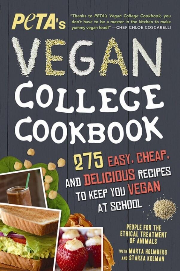 PETA's Vegan College Cookbook (2016 Edition)