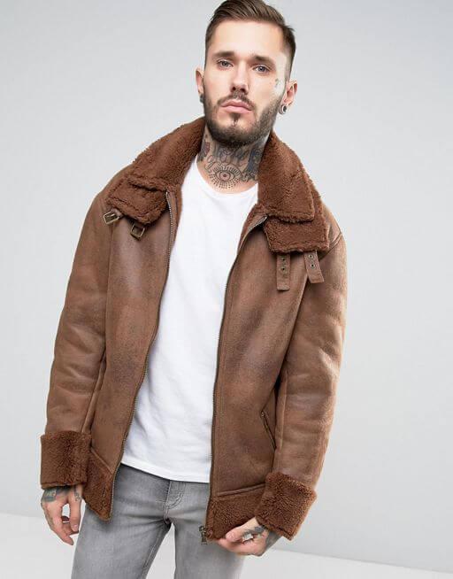 asos-vegan-faux-suede-shearling-bomber-jacket