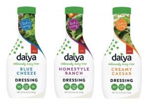 Daiya Introduces Creamy Vegan Salad Dressings in Three Flavors
