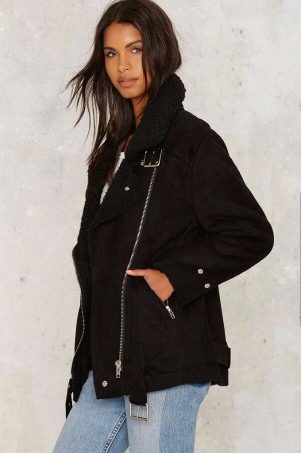 f61ae4185c4 Check Out These 11 Stylish Ways To Wear Faux Shearling