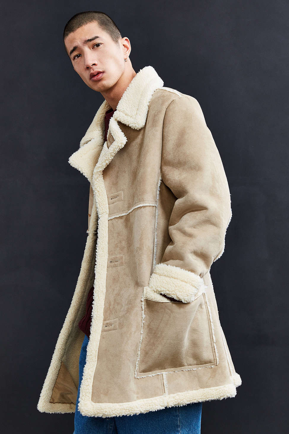 b429996d5 Check Out These 11 Stylish Ways To Wear Faux Shearling