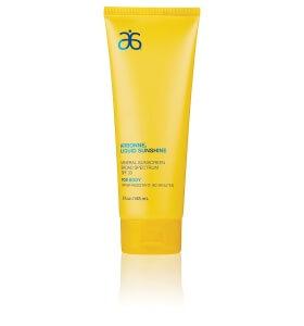 arbonne sunscreen
