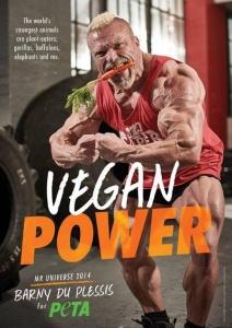 barny vegan power ad