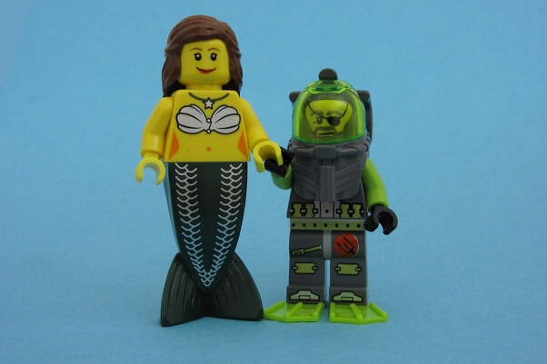 mermaid lego manatee appreciation day