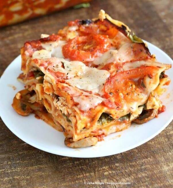 Vegan comfort food recipes to fulfill all of your hearty cravings veggie lasagna vegan forumfinder Choice Image