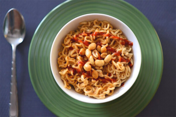 vegan microwave recipes, PETA vegan college cookbok recipes, vegan ramen recipe