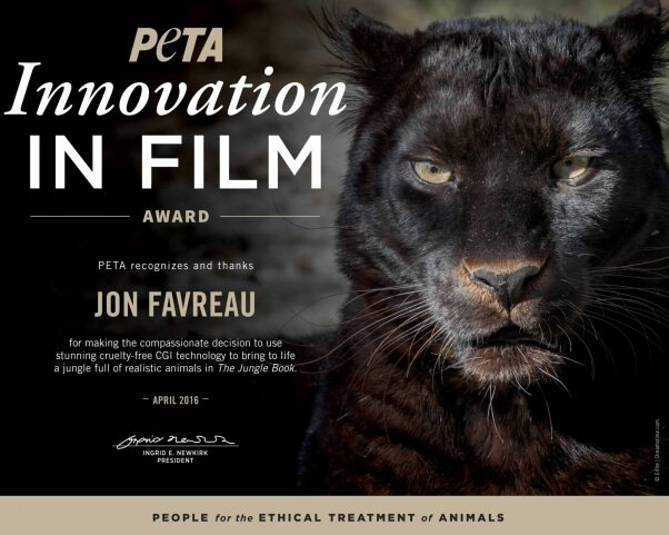 Innovation in Film Award given to Jon Favreau