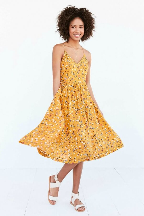 Midi Dress Urban Outfitters