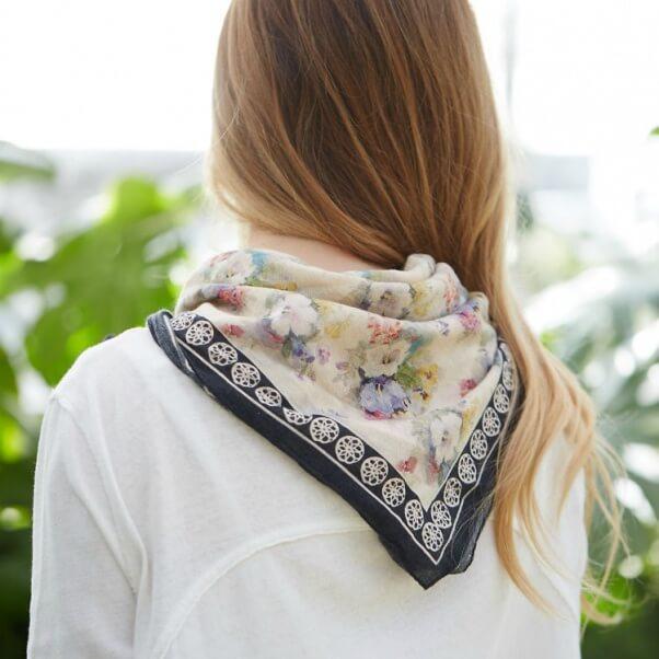 cotton garden bandana