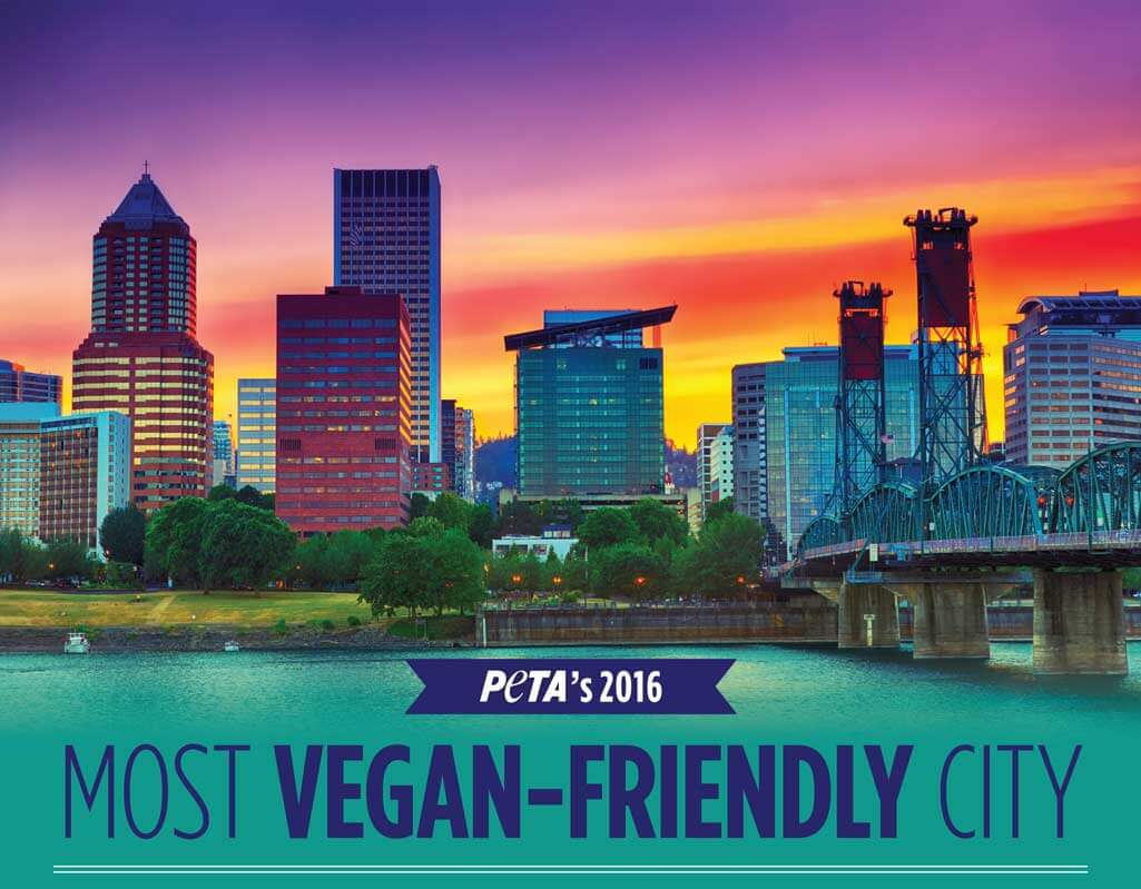 Top 10 Vegan-Friendly Cities of 2016 | PETA