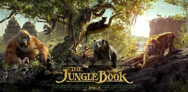 """""""The Jungle Book"""" promotional poster"""