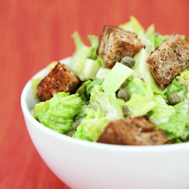 Spork Foods Vegan Caesar Salad