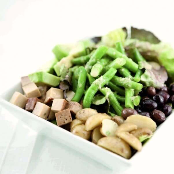 Spork Foods vegan Nicoise Salad