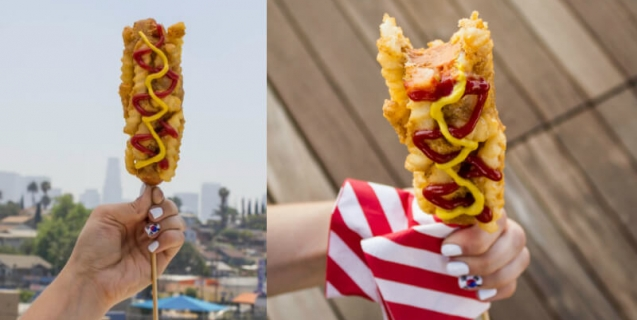 French Fry Hot Dog Korea