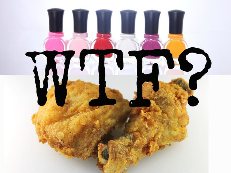 KFC\'s Nail Polish That Tastes Like Chicken Is Wrong in So Many Ways ...