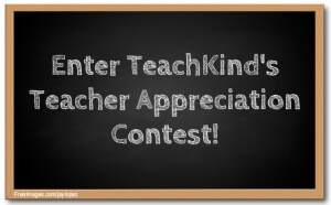 Calling All Kind Teachers for TeachKind's Teacher Appreciation Contest!