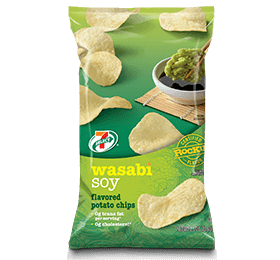 7-Eleven Select Wasabi Soy Flavored Potato Chips