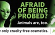 'Afraid of Being Probed?' Billboard Reveals Frightening Alien World of Animal Tests