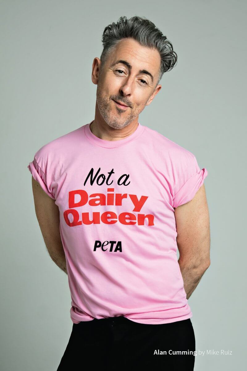 Alan Cumming Is 'Not a Dairy Queen' at Pride | PETA