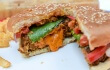 Vegan Grilled Cheese-Stuffed Beyond Burger 2