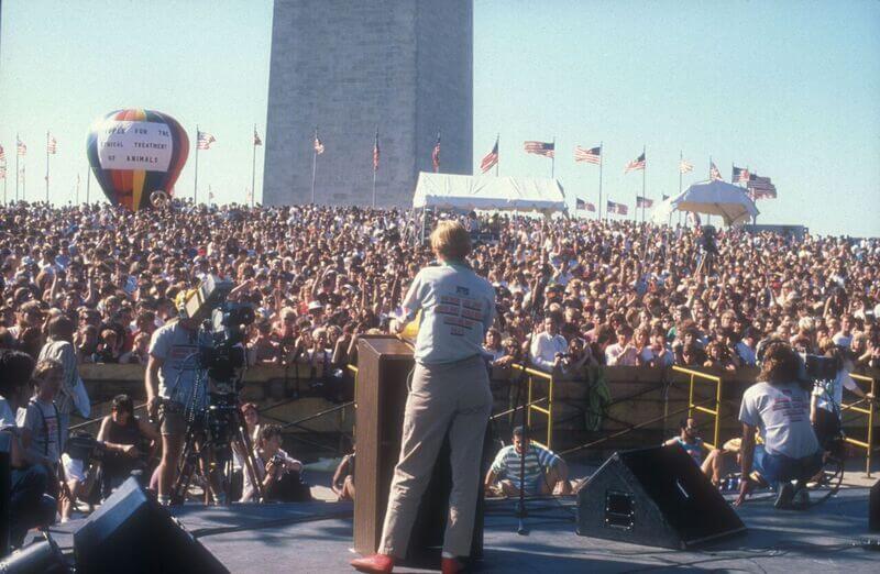 1988 – PETA's Animal Rights Music Festival