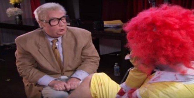 Jiminy Glick Interviews 'Ronald McDonald'