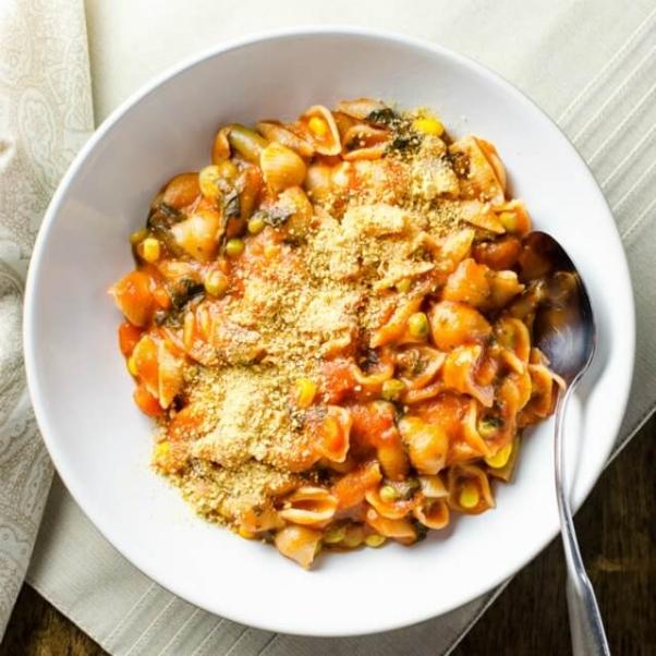 Rice-Cooker-Pasta-and-Veggies