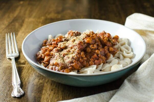 Rice-Cooker-Vegan-Lentil-Bolognese