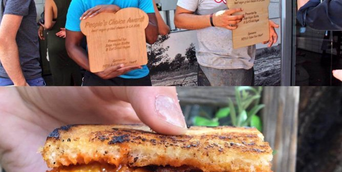 First Vegan Grilled Cheese Competition Wins Over Los Angeles