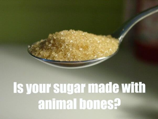 is sugar vegan shareable