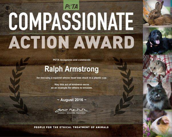 CAA_Ralph Armstrong_Squirrel Rescue_8-17-16