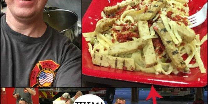 What's for Dinner? N.C. Firefighters Try Vegan!