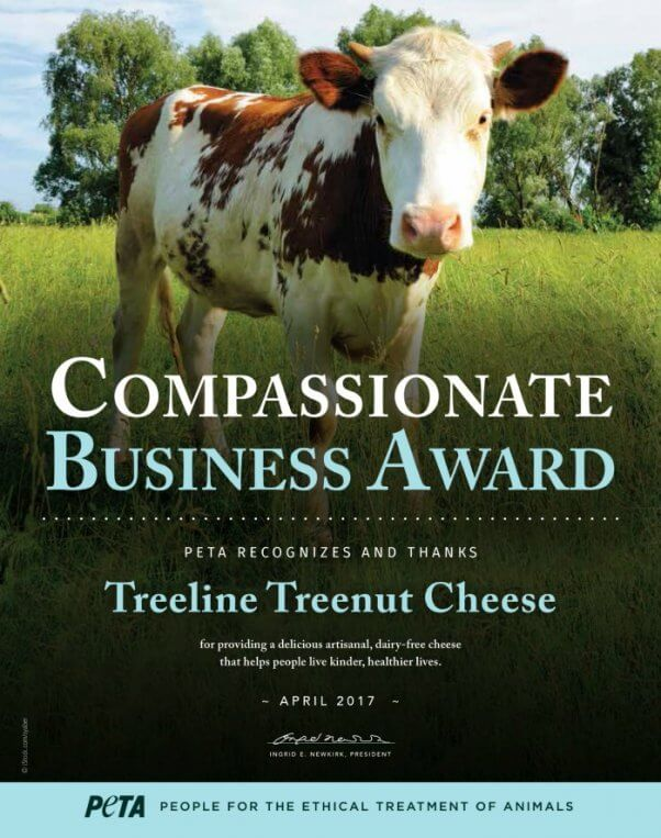 An award for Treeline Cheese company