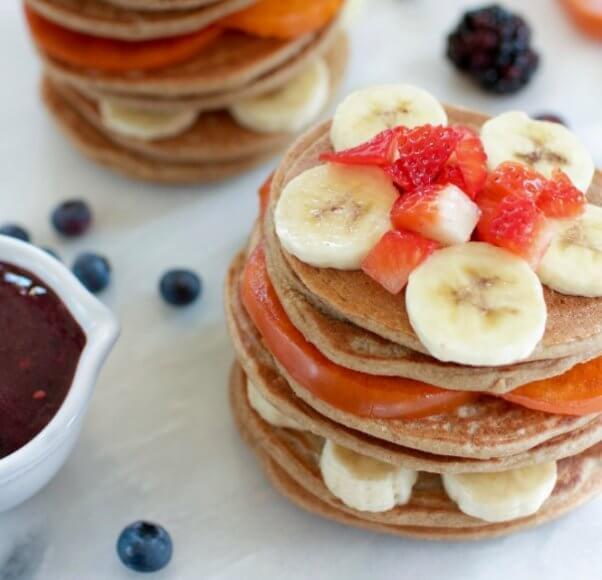 Vegan 3 Ingredient Pancakes