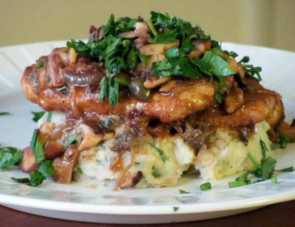 Vegan Chicken Piccata
