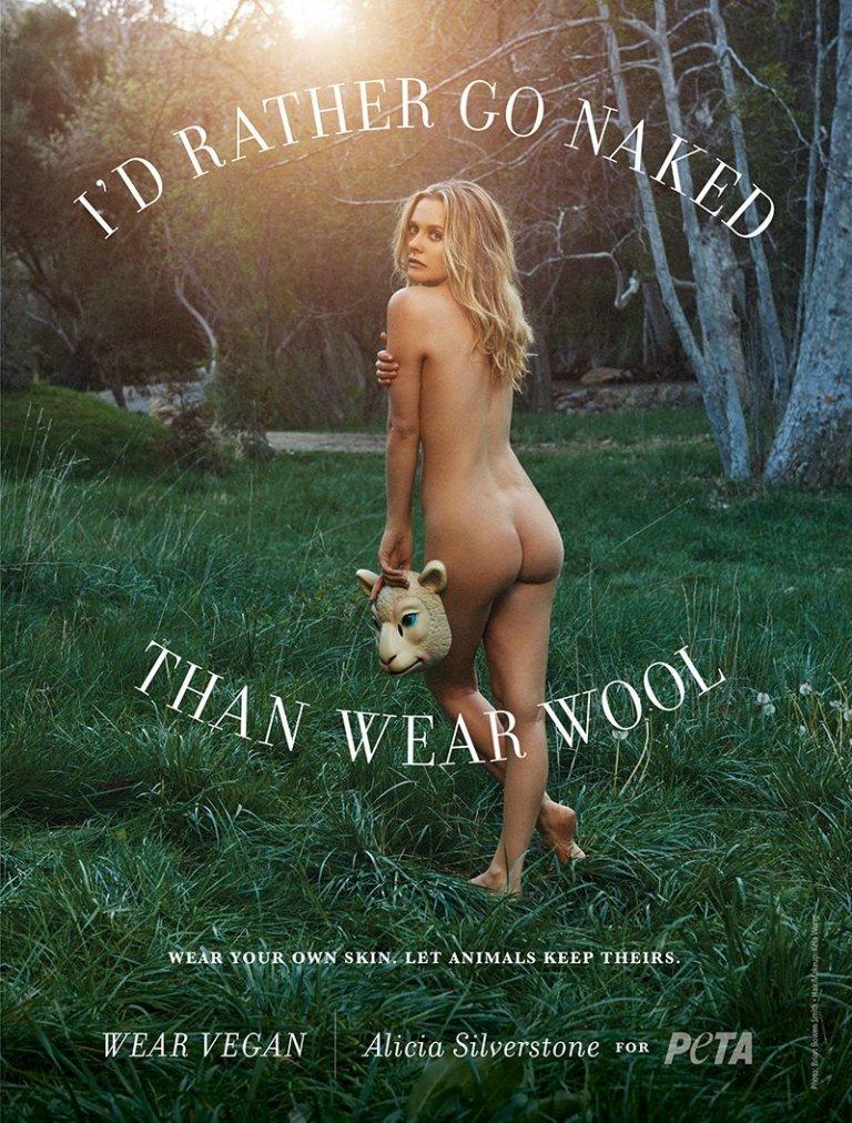 Alicia Silverstone-wool