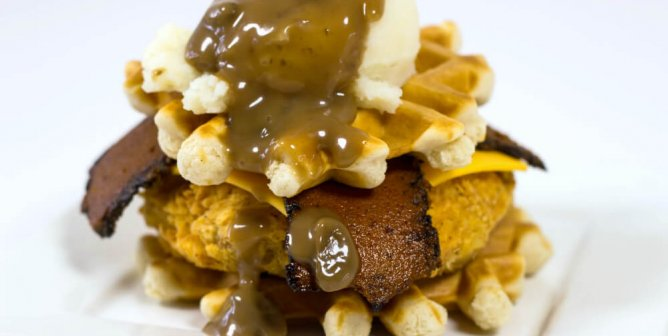 This Chicken and Waffle Recipe Just Proved ANYthing Can Be Made Vegan