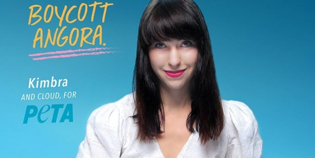 Singer Kimbra Explains That Angora Looks Best on Bunnies
