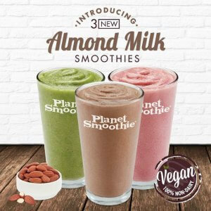 Planet Smoothie Introduces Three Out-of-This-World Vegan Flavors
