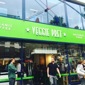 Pret a Manger's Vegetarian Pop-Up Store Is Now a Permanent Fixture