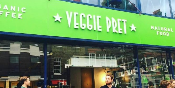 Pret a Manger's Vegetarian Pop-Up Store Is Now a Permanent Fixture
