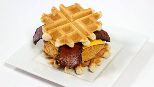 vegan-chicken-and-waffle-burger
