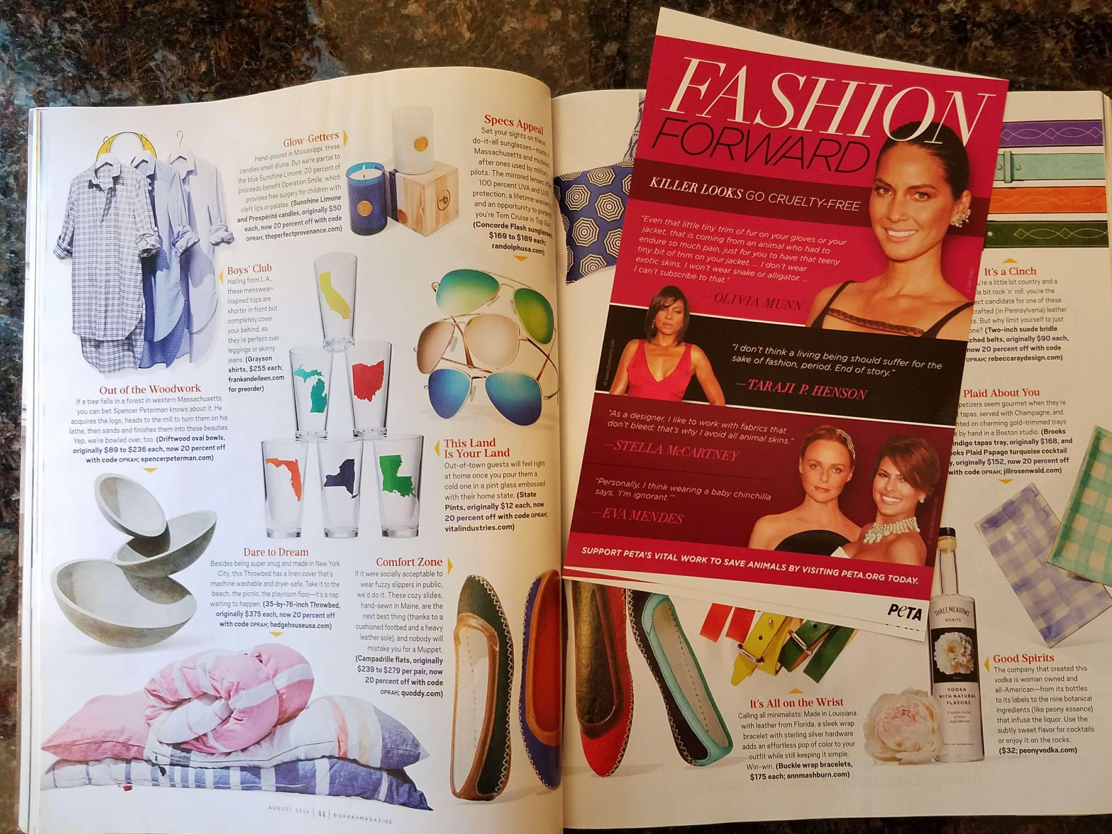 magazine leaflet