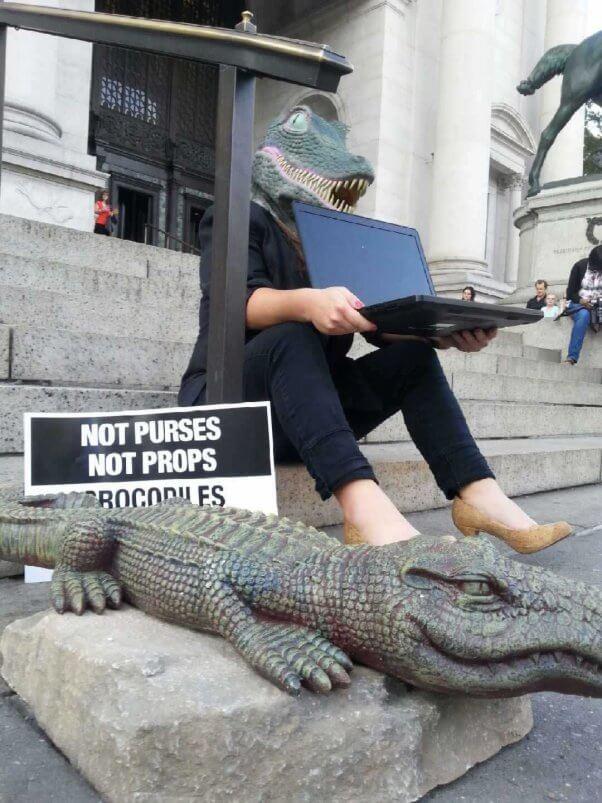 Demo at American Museum of Natural History