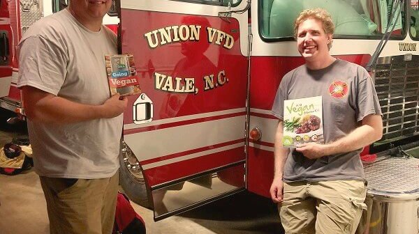Second Helping: Vegan Meal Is Another Hit With N.C. Firefighters