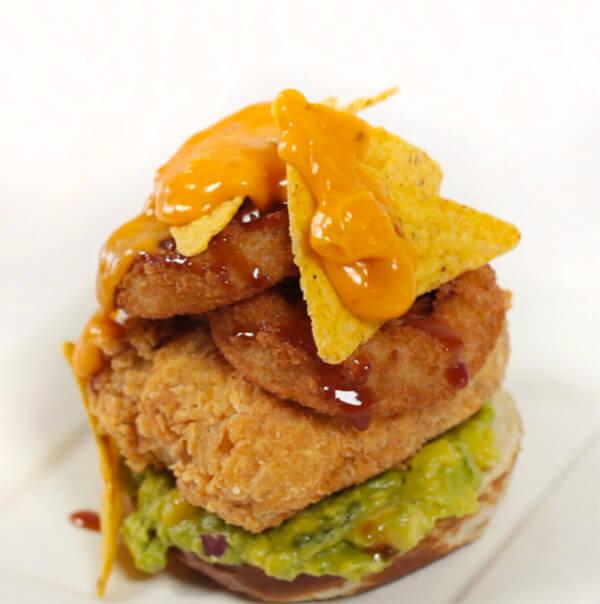 epic-stacked-vegan-burger-with-nachos