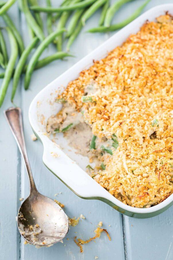 green-bean-casserole-with-easy-crispy-onion-topping